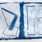 blueFloorplan (wedge) (2016) acrylic on paper (23 x 30,4 cm)_web