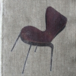 danishChair (tiltProfile) (2016) phototransfer on linen with linseed oil (29 x 23 cm)_web