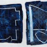 blueFloorplan (flagged) (2016) acrylic on paper (23 x 30,4 cm)_web