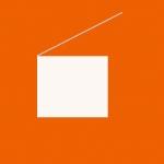 perfectly square (burntOrange) (2008) digital print on Arches watercolour paper (30 x 30 cm)