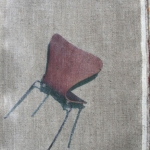 danishChair (tiltBack) (2016) phototransfer on linen with linseed oil (29 x 23 cm)_web