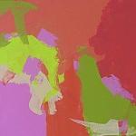 trio Chatelaine limeade (2011) (50 x 60 x 2 cm)