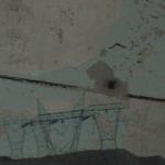 leaving (las vegas) (2004)  digital print with charcoal & coloured pencil on Arches watercolour paper (40 x 30 cm)